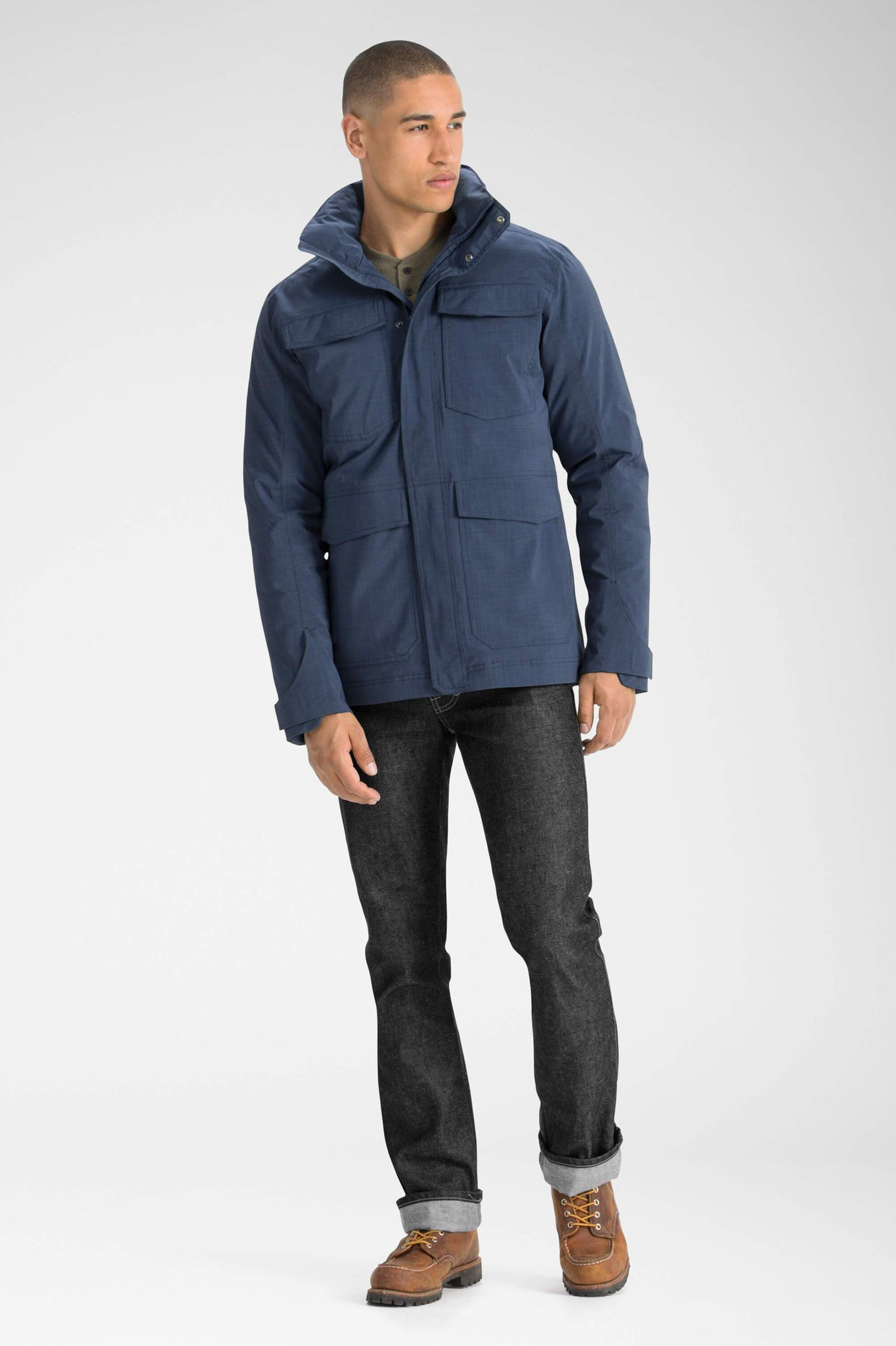 men's sandvik jacket - navy
