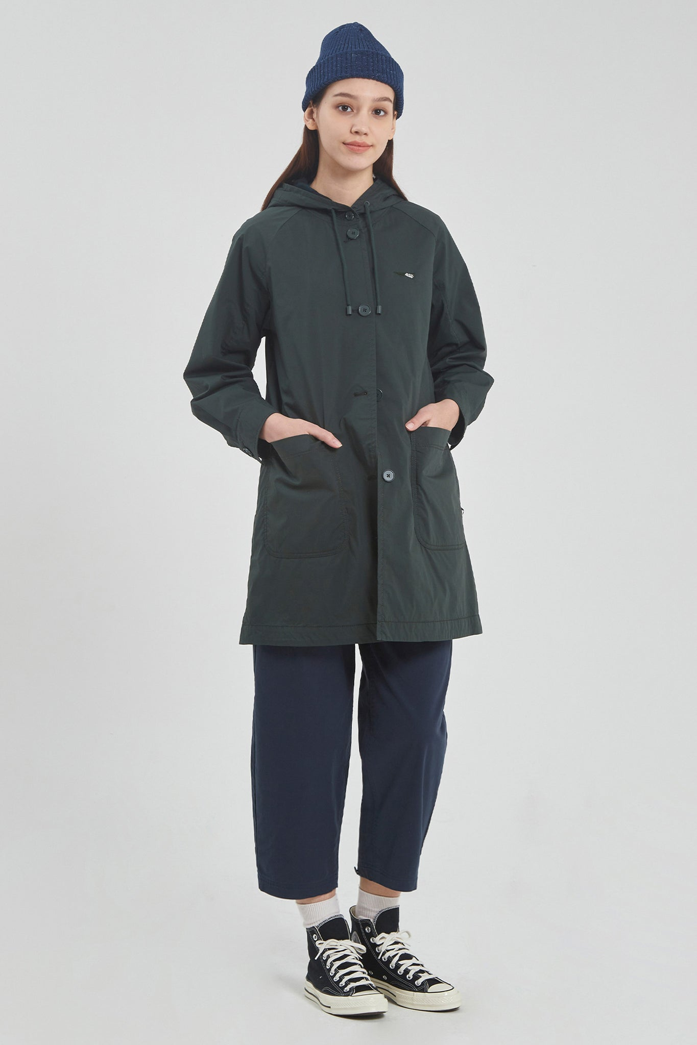 Women's Walker Hooded Trench
