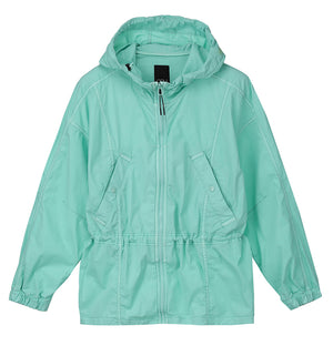 Flounce Hooded Jacket