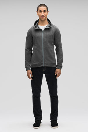 men's hyperspacer full zip hoody  cape heather