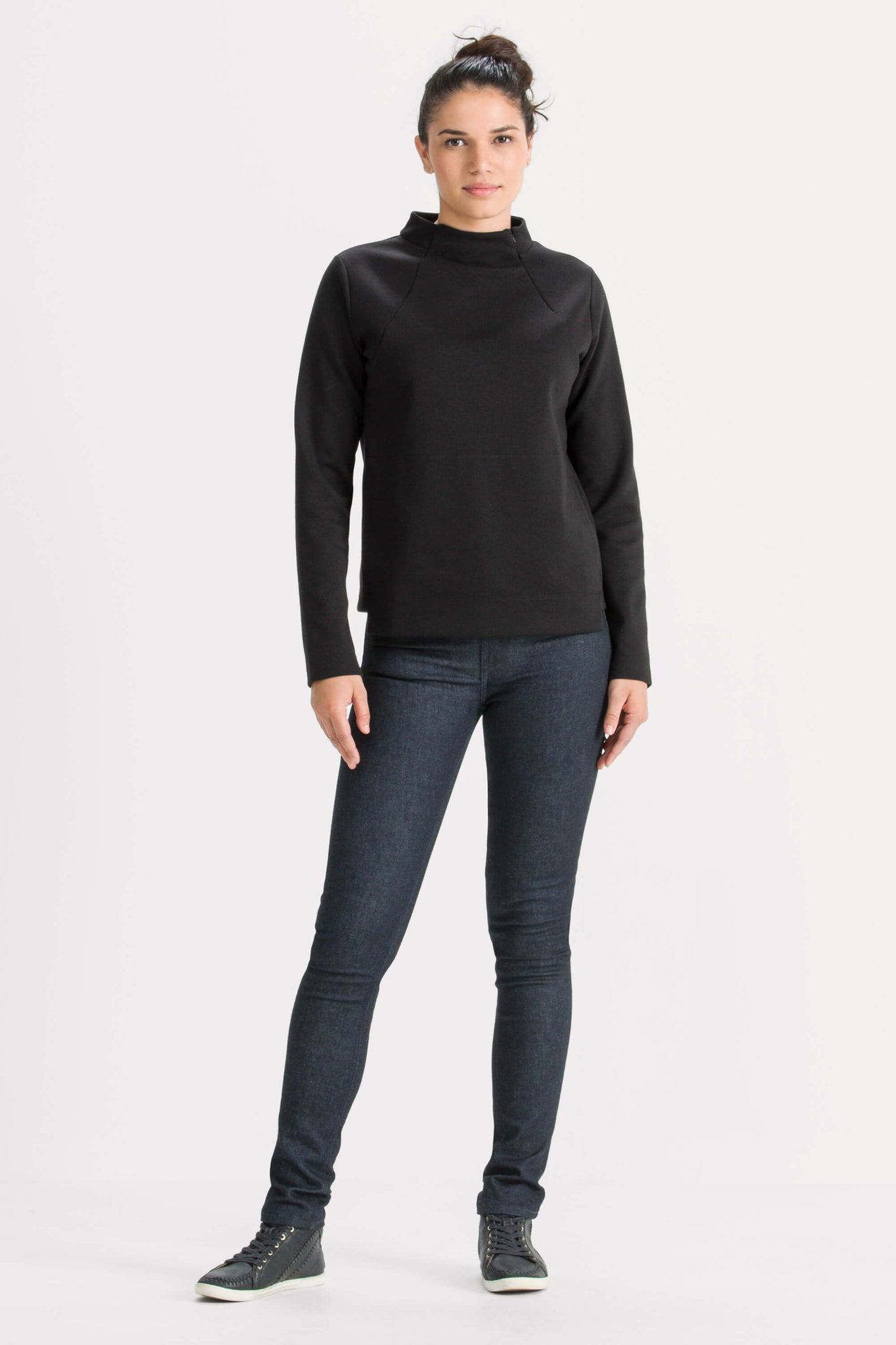 Hyperspacer Funnel Neck Pullover