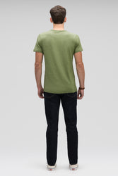 men's kanab hemp blend short sleeve t-shirt - cedar heather