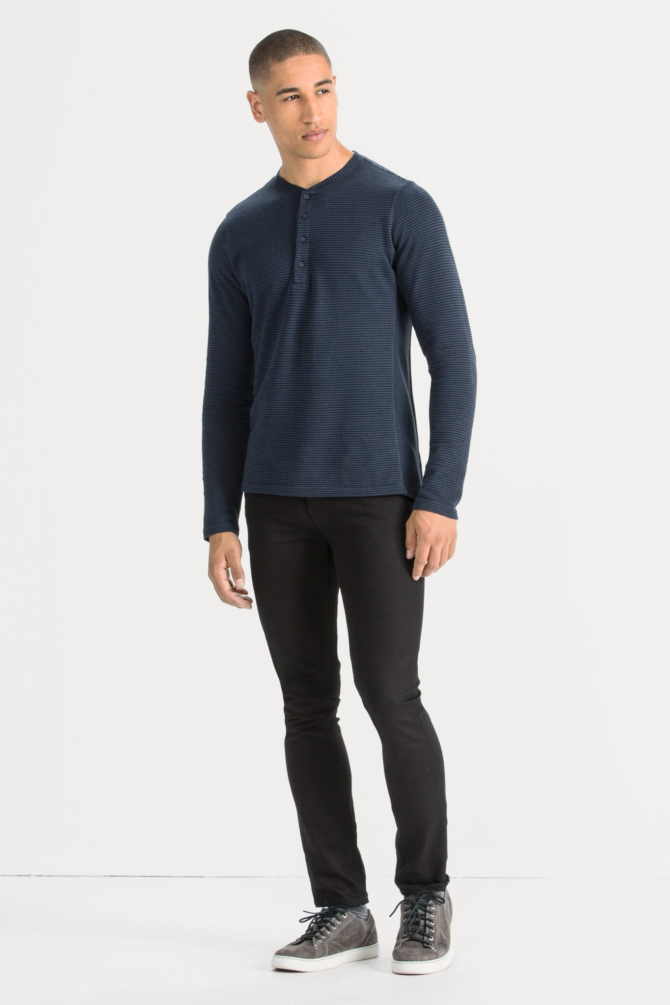 Kanab Long Sleeve Heavyweight Henley