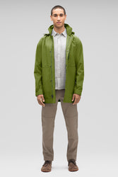 Men's Waterproof Sequenchshell Trench Coat - Green