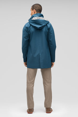 Sequenchshell Waterproof Trench Coat
