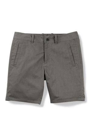 men's stretch motil quick dry chino short   cape heather