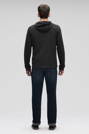 men's hyperspacer full zip hoody  caviar