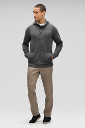 men's hyperspacer full zip hoody- cape heather