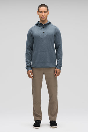 men's hyperspacer full zip hoody  lagoon heather