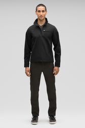 Men's Fitted Water-Resistant Introvert Jacket - Black