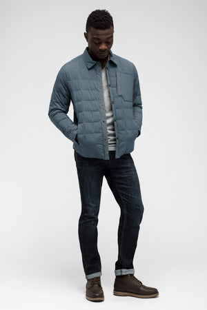 men's emberious insulated shirt   slate