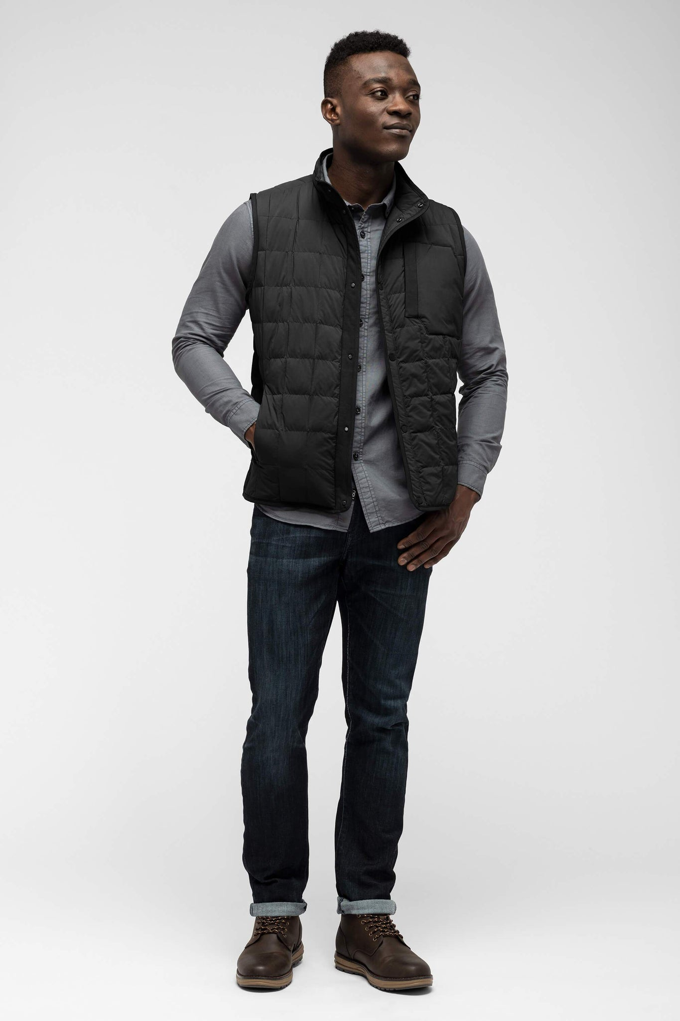 men's emberious insulated vest - caviar