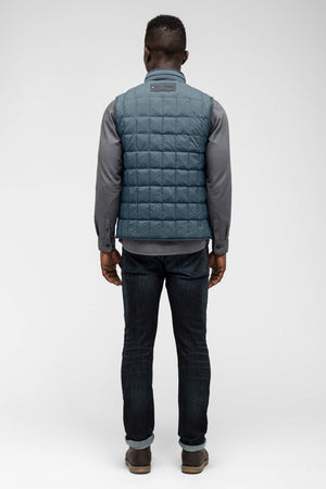 men's emberious insulated vest   slate