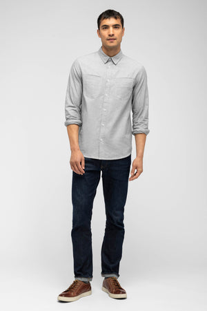 men's incidental oxford shirt   shadow