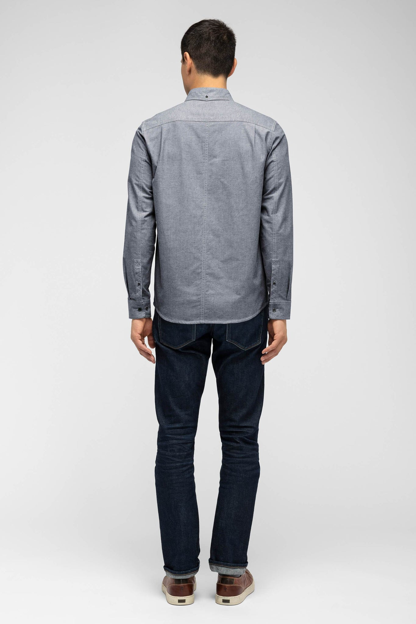 men's incidental oxford shirt - space