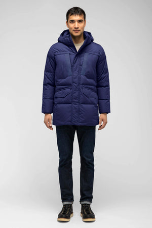men's waxen down jacket   astro