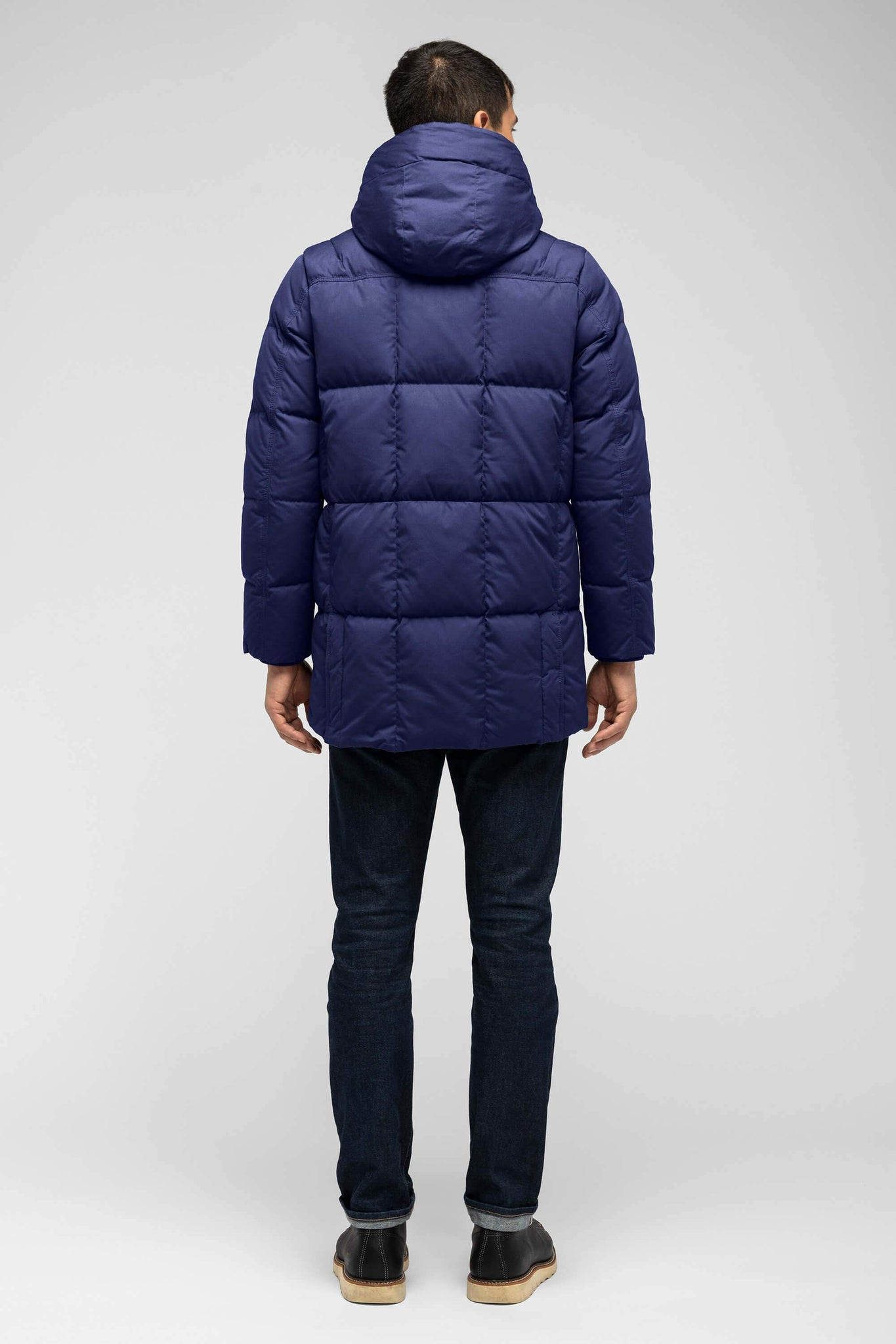 men's waxen down jacket - astro
