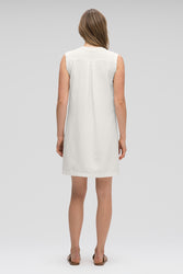 women's flaxible sleeveless shift dress - vapor