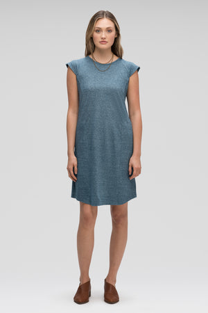 women's kanab capsleeve casual dress   lagoon heather