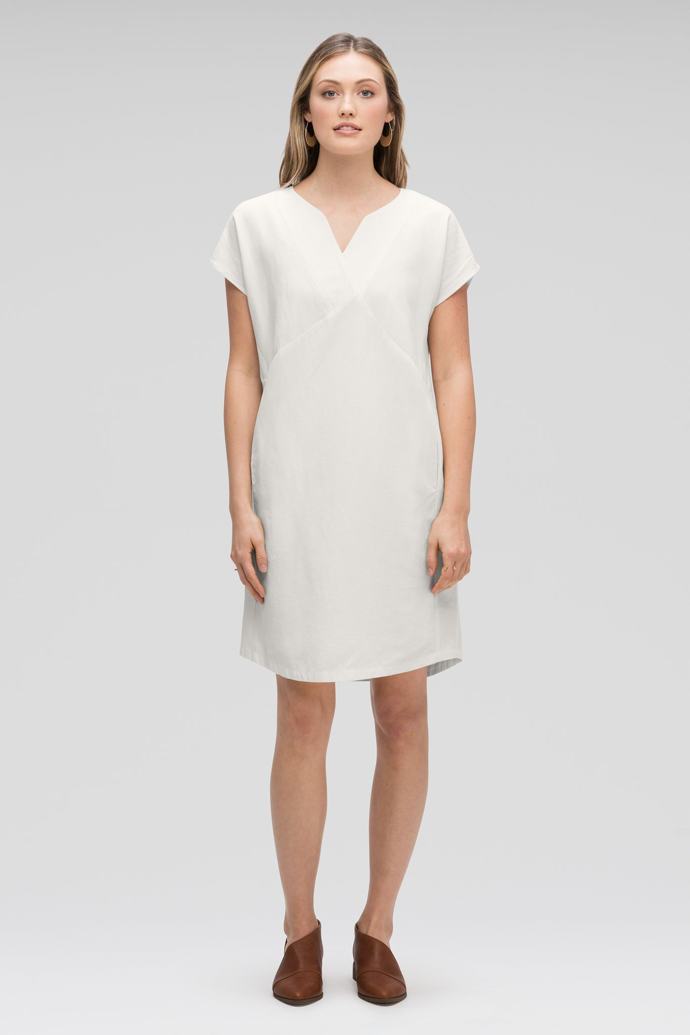 women's flaxible mod shift dress - vapor