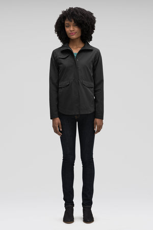 Women's Introvert Crop Tailored Jacket Black