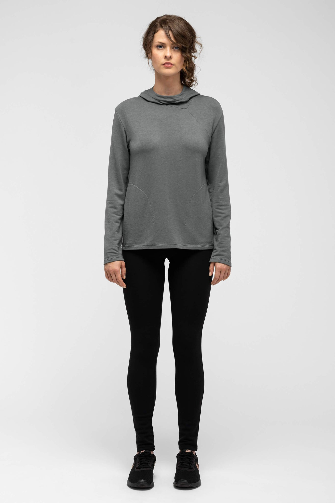 women's elementerry hoody - shadow
