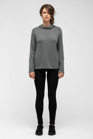 women's elementerry hoody   shadow