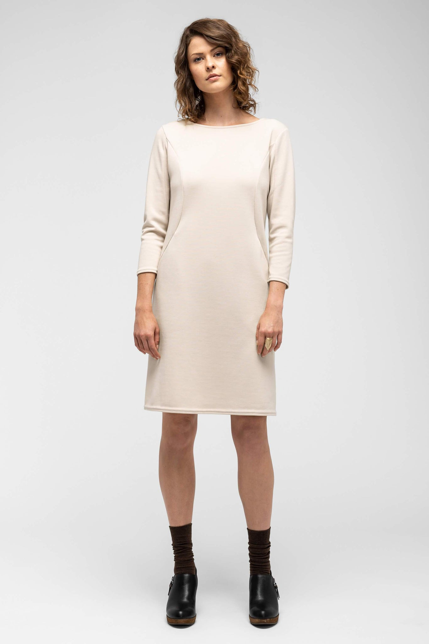 women's hyperspacer dress - ivory