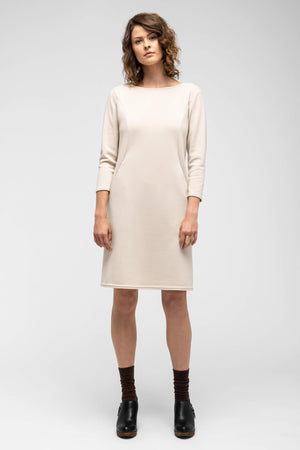 women's hyperspacer dress   ivory