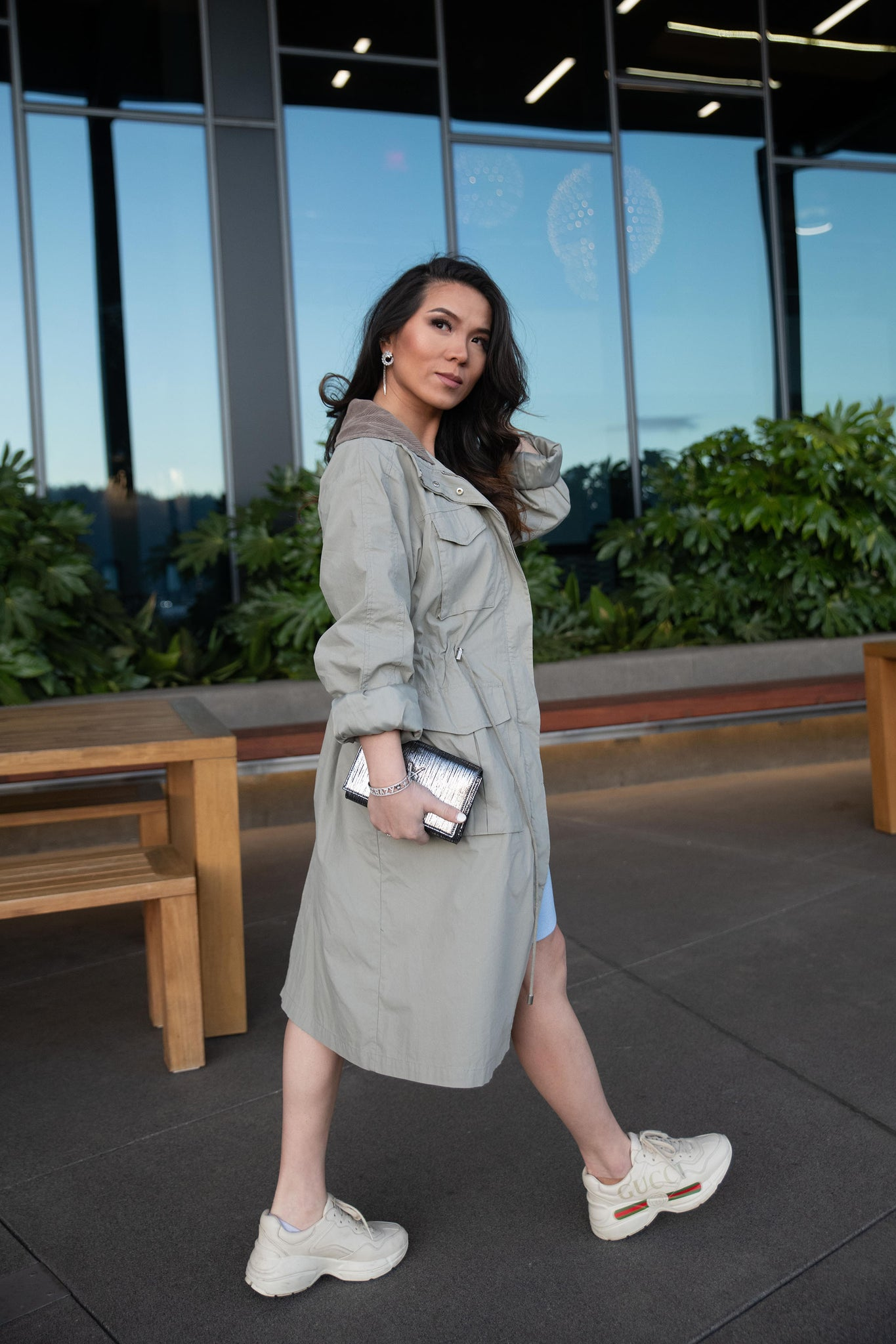 Axis Trench Coat