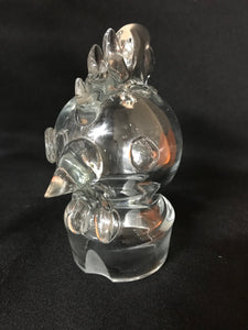 Cockerel Cocktail Shaker | Hand Blown | 1930's