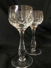 Load image into Gallery viewer, Lead Crystal Wine Glasses | Set of 8 | 1960's