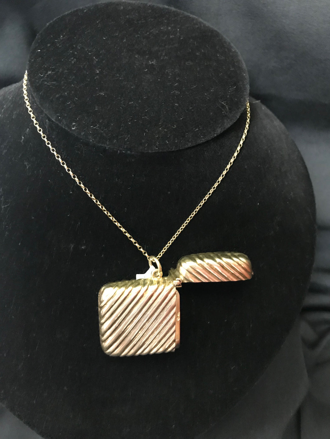 Match Case Pendant | 22ct Gold plated