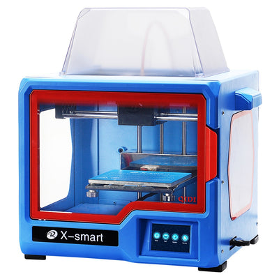 QIDI TECHNOLOGY 3D Printer, New Model: X-smart, Fully Metal Structure, 3.5 Inch Touchscreen - Primo Print
