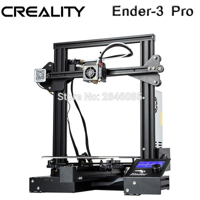Creality 3D Ender-3 PRO 3D Printer Upgraded Cmagnet Build Plate Resume Power Failure Printing DIY KIT MeanWell Power Supply - Primo Print