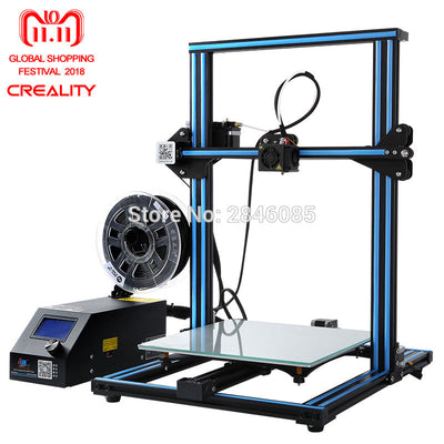 CREALITY 3D CR-10S CR-10 DIY 3d Printer kit Large printing size Dual Z rod Resume Printing Filament Detect Function - Primo Print