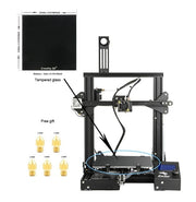 Newest 3D Printe Ender-3 Pro/Ender 3/Ender-3X DIY KIT printer 3D UpgradCmagnet Build Plate Resume Power Failure Printing - Primo Print
