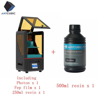 ANYCUBIC Photon 3D Printer Cheap UV LED Resin SLA/LCD Assembled Impresora 3D 2.8'' Color TFT Screen 3d drucker imprimante - Primo Print