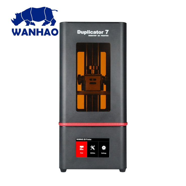 2019 New Wanhao D7 PLUS 3D Printer DLP SLA Duplicator D7 PLUS 3D Machine LCD Touch Screen 250ml UV Resin & FEP Film For Free - Primo Print