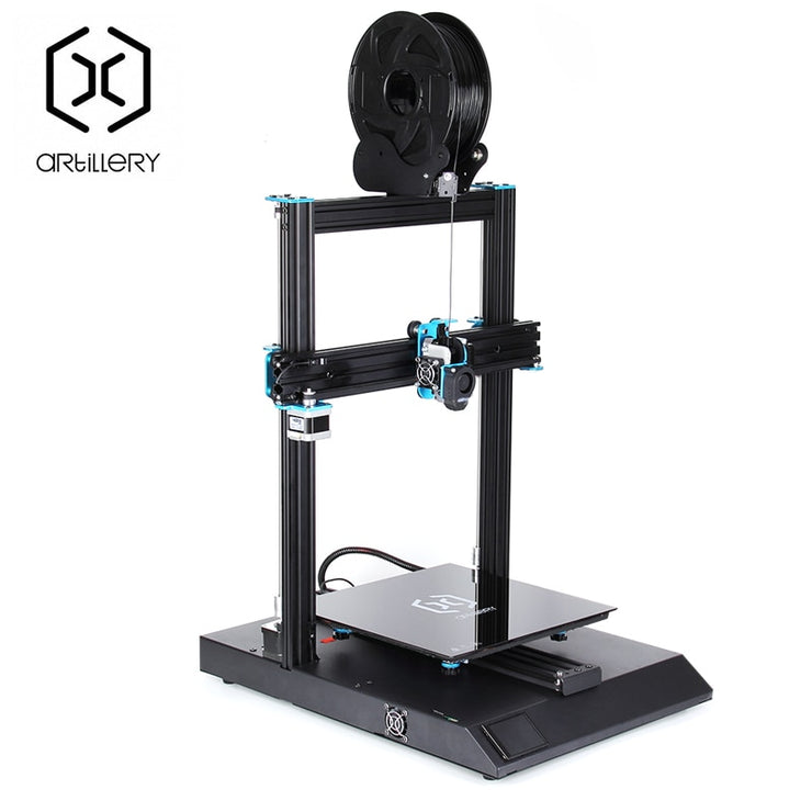 3D Printer Artillery Sidewinder X1 SW-X1 300x300x400mm Large Plus Size High Precision 3D Printer Dual Z axis TFT Touch Screen - Primo Print