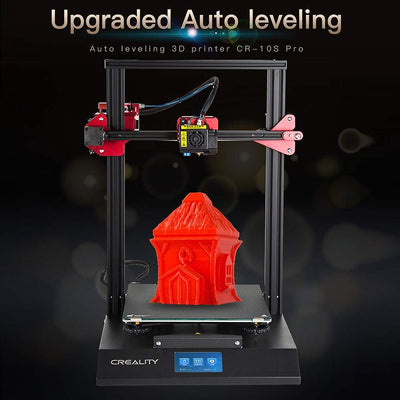 Creality 3D CR-10S Pro DIY 3D Printer Kit 300*300*400mm Printing Size Colorful for Touch LCD Resume Printing Filament Detection - Primo Print