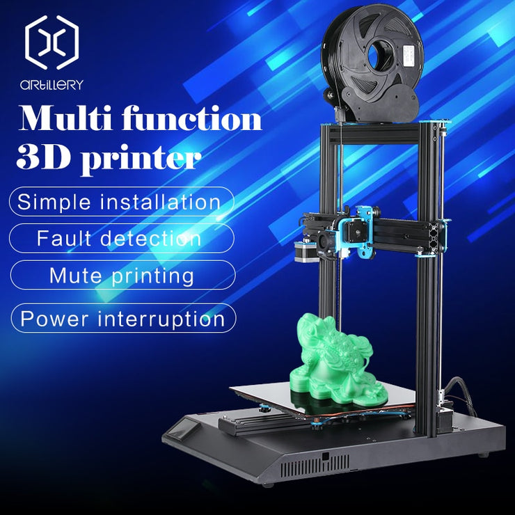 Artillery 3D Printer Sidewinder X1 SW-X1 High Precision Large Plus Size 300*300*400mm 3d printer Dual Z axis TFT Touch Screen - Primo Print