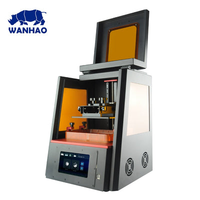 WANHAO Factory Direct Sales 3D Printer D8 DLP LCD Jewelry Dental Color Touch Screen 405nm UV Resin High Precision WiFi Plus Size - Primo Print