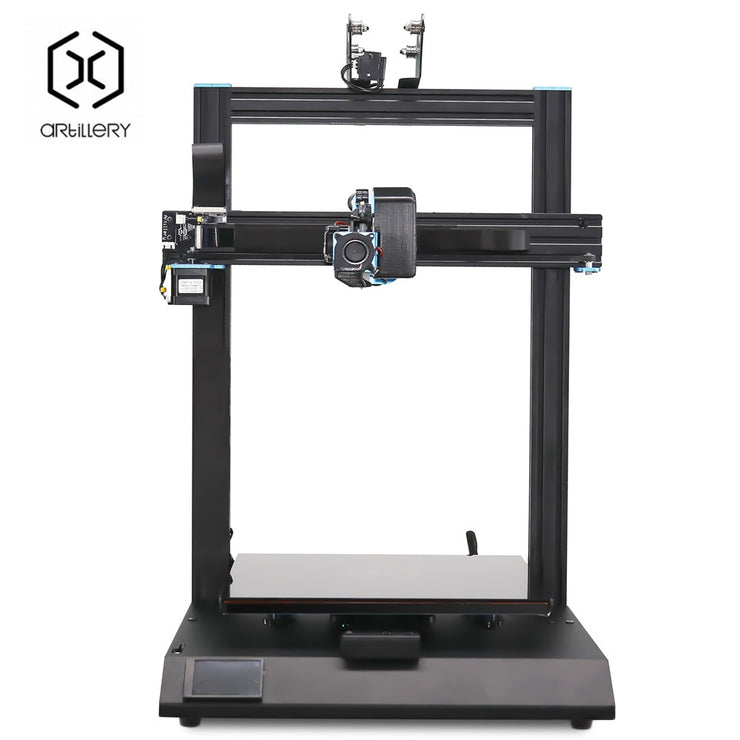 New Artillery Sidewinder X1 SW-X1 3D Printer High Precision Fast Heat Up Large Plus Size 3d printer 300*300*400mm Dual Z axis - Primo Print
