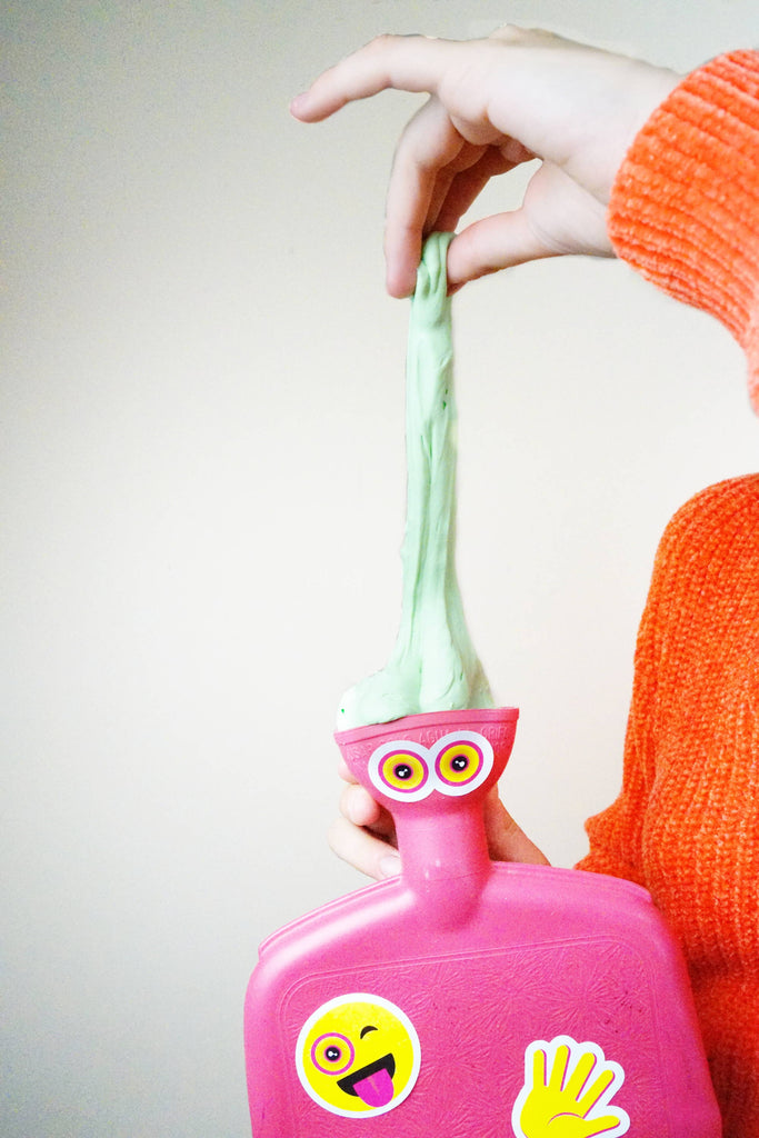 Slime Upcycling: Hot Water Bottle
