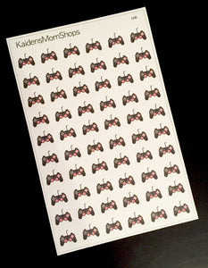 Video Game Controller Stickers - F.026