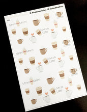 Coffee First Deco Stickers - S186