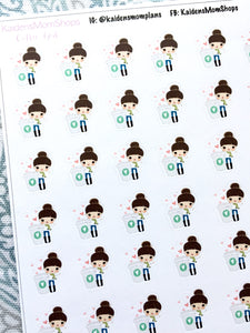 Coffee Girl Stickers - S205