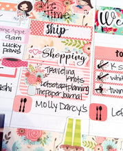 Shopping Word Stickers - S218