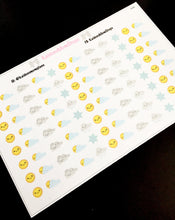 Weather Icon Stickers - S046